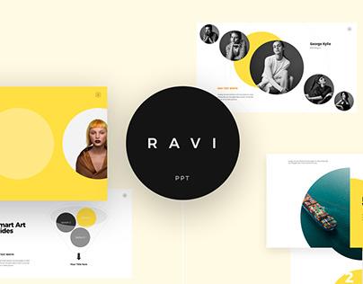 FREE - Ravi Presentation Template