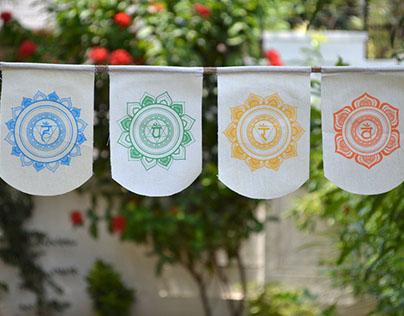 Chakra Hanging Flags