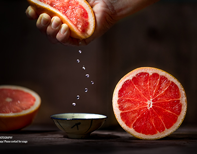 Interesting Fruit Photography
