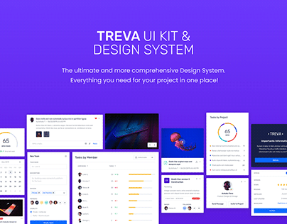 Treva - The Ultimate UI Kit & Design System