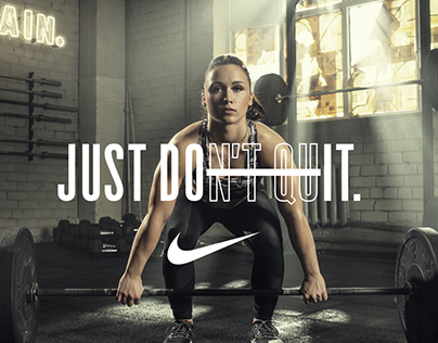 NIKE: JUST DON'T QUIT - Rebeka Koha