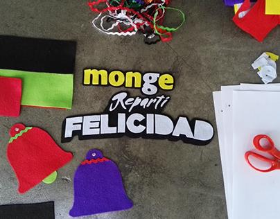 Repartí Felicidad con Monge