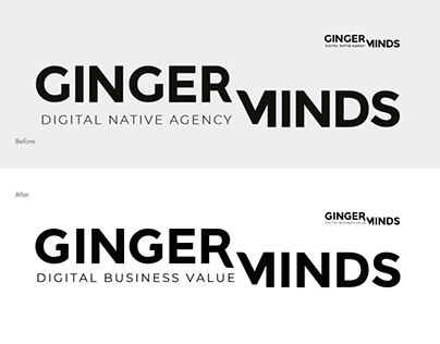 Gingerminds logo optimization