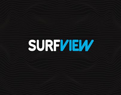 Surfview - logo/web site design