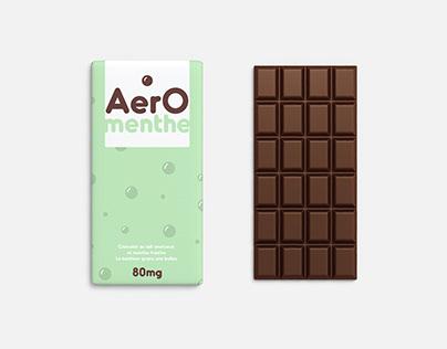 MINT AERO CHOCOLATE • PACKAGING