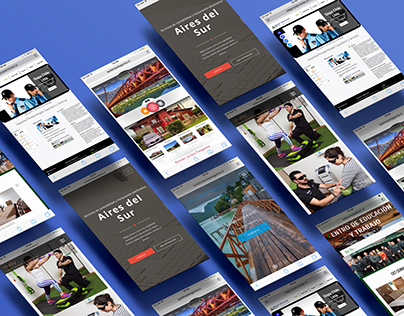 Portfolio web design Net Patagonia