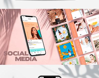 Omega Skin Lab Social Media Concept & Web Design