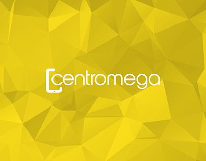 Centro Mega | Identidade Visual e Flyer