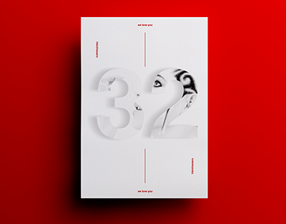 Posters by Xavier Esclusa / M32 Hairdressers