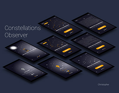 Constellations Observer mobile application