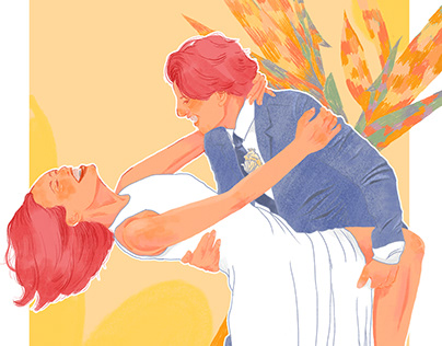 [Illustration] Taha wedding