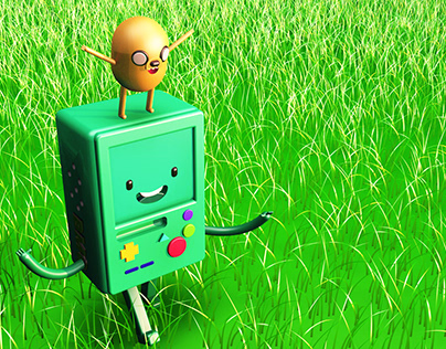 The adventures of BMO and JAKE