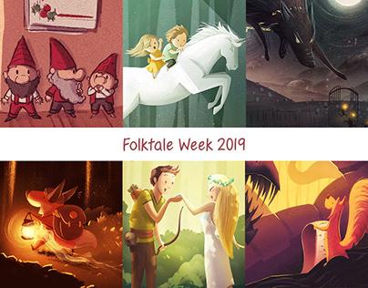 Folktale Week 2019 Illustrations