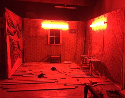Red Light Set Design
