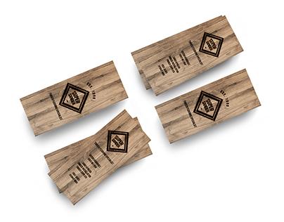 Super Sander Timber Flooring Business Cards