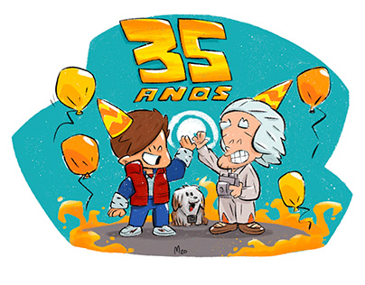 Back to the Future - 35 anos