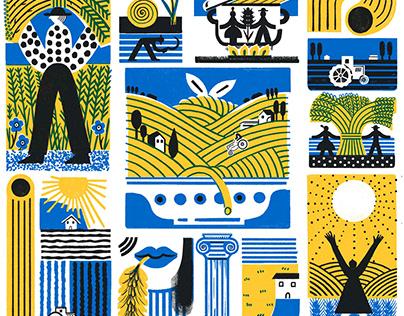 Barilla - manifesto del grano