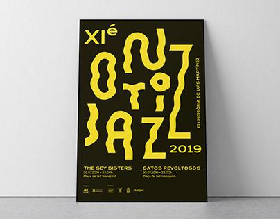 Ontijazz 2019. Poster Jazz Festival.