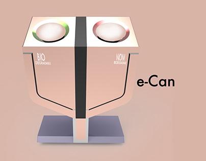 We-Can - A Modern Trash Can