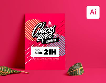 Los Chicos de Ayer - Promotional Poster