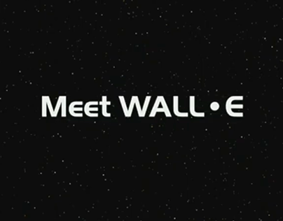 WALL-E Promotion Trailer (Re-sound)