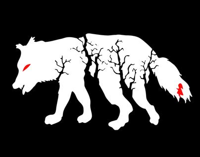 MINIMALIST ANIMAL SHADOW ILLUSTRATIONS