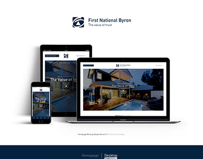 First National Byron Web Design
