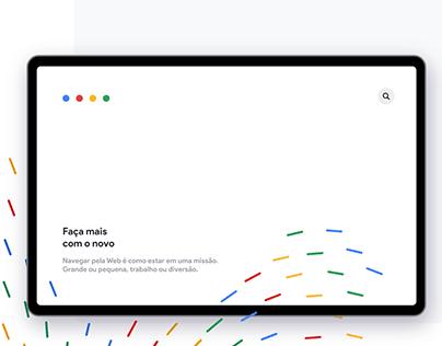 Google Pesquisa / Redesenho 2020
