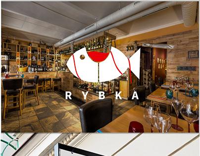 Logo design for Rybka Cafe