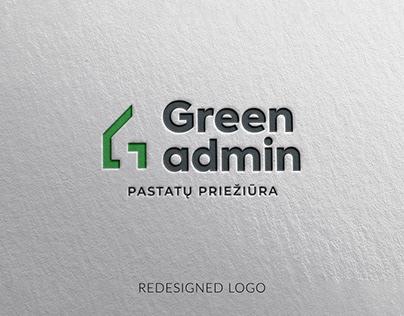 GREEN ADMIN VISUAL IDENTITY