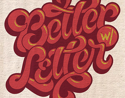 Better with Letter | Lettering