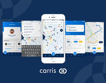 App Carris redesign