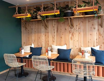 Source Cafe, Hospitality Design