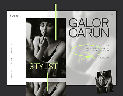 Website for a stylist