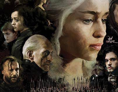 Artwork 'Game Of Thrones'