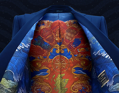 Johnnie Walker Blue Label suit