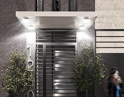 ArchVIZ y Diseño Ext./Int. - Edificio Av. Roca