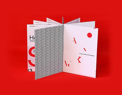 Six Typefaces 六英文字體