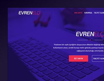 Evren Elçi Web Design
