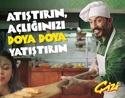 ÜLKER ÇİZİ - Yepyeni Peynirli Kremalı Milföy Börek