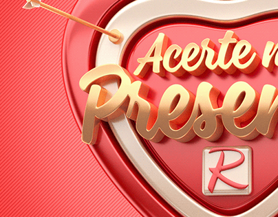 Campanha Para dia dos Namorados - Acerte no presente