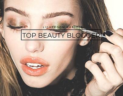 20 Top Beauty Blogger Lightroom Presets+Mobile Version