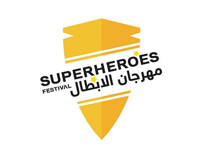Superhero Festival Branding