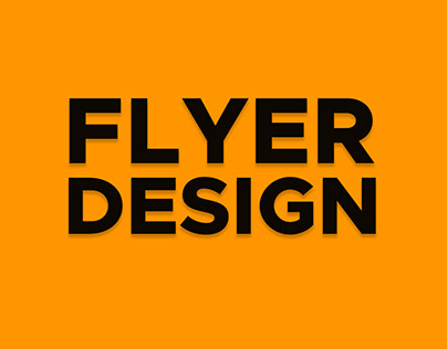 Flyers Design