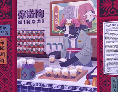 Chimeras—Personal illustrations