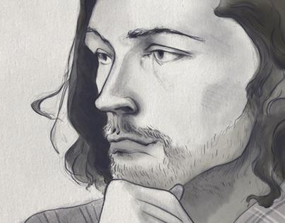 Hozier Portrait