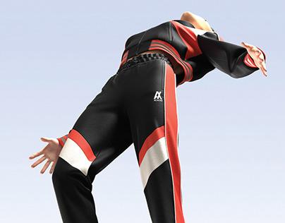 Track Suit 3D Design Concept