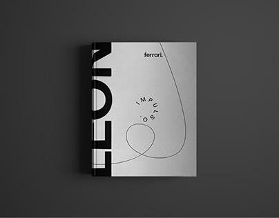 Diseño editorial + León Ferrari