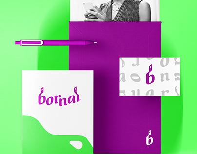 BORNAL Delivery App Brand Identity Design