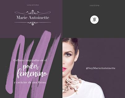 Marie Antoinette | Brand design